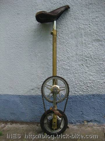 Unicycle with Huge Gear Ratio