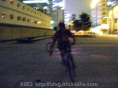 Playing Bicycle Polo in Modern Beijing
