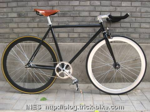 Fixed Gear Bicycle in Beijing
