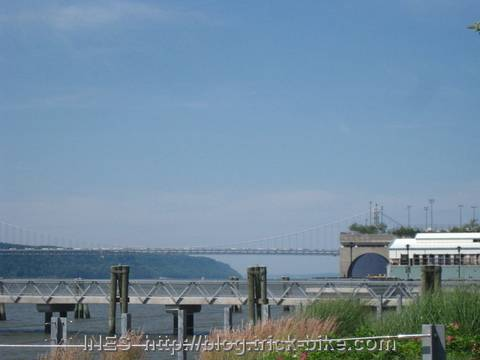 George Washington Bridge and Hudson