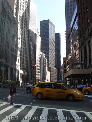 Cycling Through Manhattan