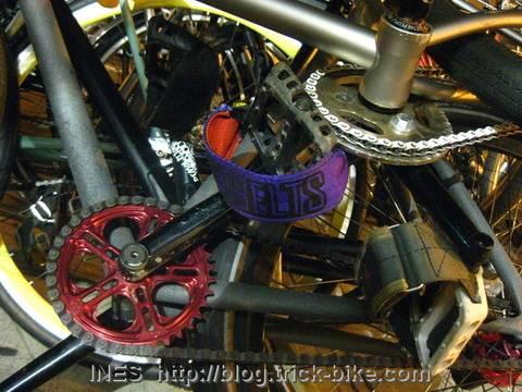 BMX pedals on Fixies
