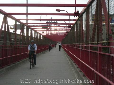 Cycling Path on Williamsburg bridge