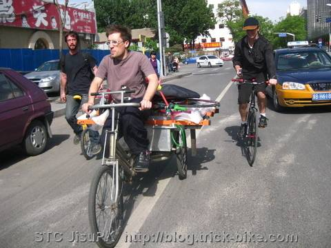 Beijing Goldsprints Bike Race System on a Tricycle
