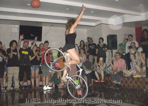 Lets Hear it for the Girls Trick Bike Show