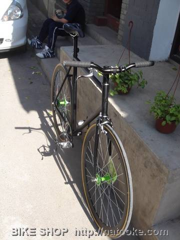 Duncan's Fixed Gear Bike