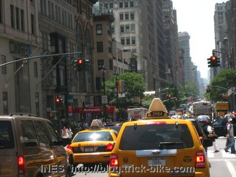 Manhattan Traffic Jams