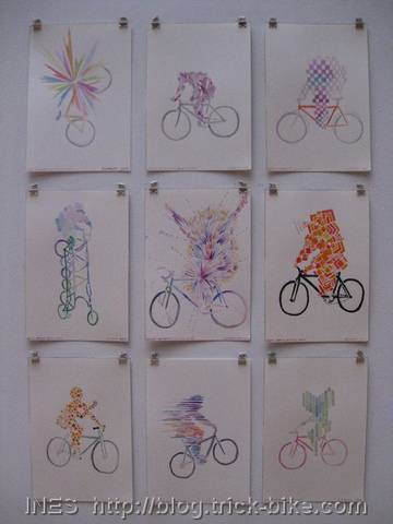"Jessica Findley ""Aura's of People Who Love Their Bike"""
