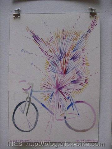 Brendt Barbur's Bike Aura by Jessica Findley