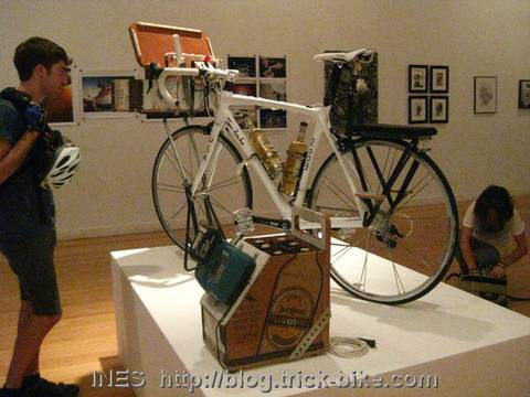 Bicycle Art Installation
