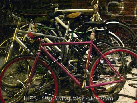 Colorful Bikes of NYC