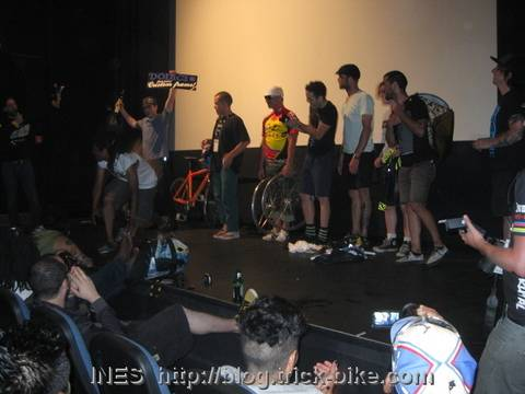 Alleycat Race Award Ceremony