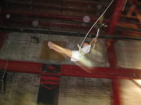 Girl on the Flying Trapeze in NY