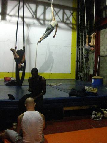 Aerial Circus Disciplines
