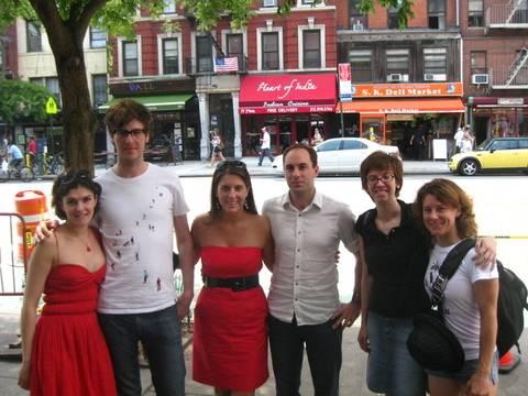 Friends from Beijing in NY