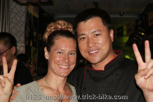 Ines and Frank Jiang