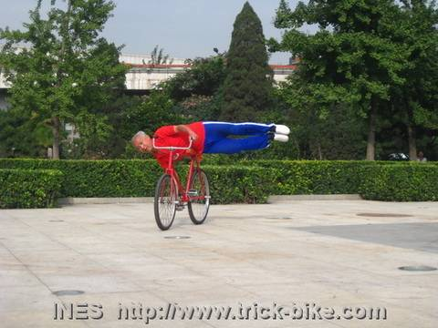 Bike Tricks despite High Age