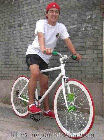 Italian Fixed Gear Bicycle