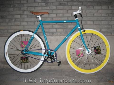Cool Fixed Gear Bike by Natooke