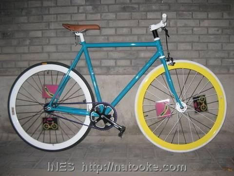 Cool Fixed Gear Bike by Natooke
