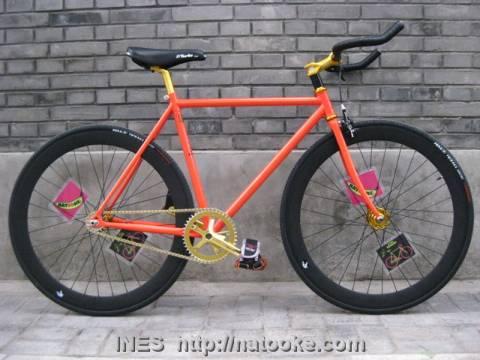 Full Modern Style Track Bike