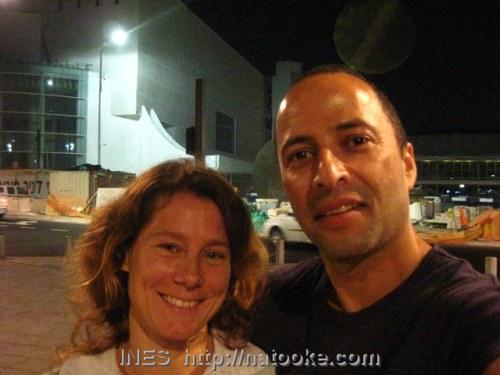 Edan and Ines in Tel Aviv