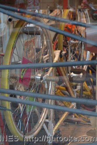 Trick Bike and Inner Tubes