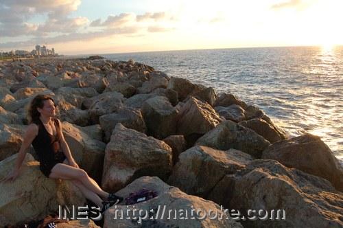 Ines in Jaffa