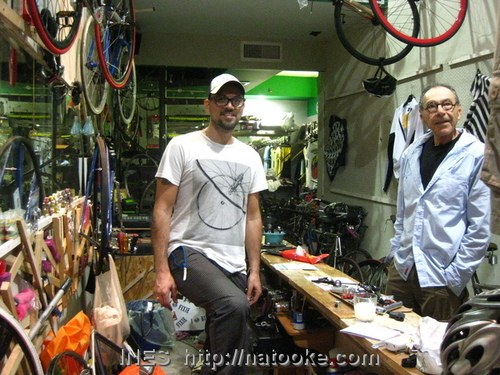 Bike Shop Owner and Customer