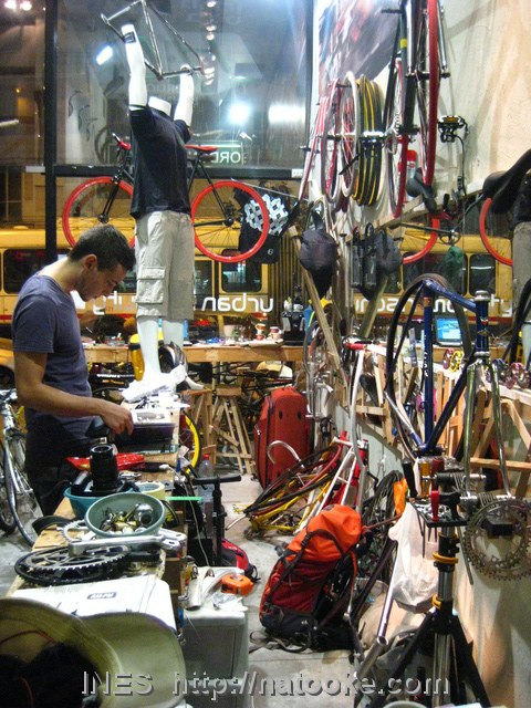 Inside the Fixed Gear Shop