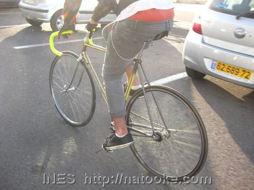 Fixed Gear Bike of Arnon Fisher