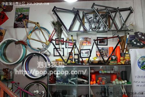 Fixed Gear Bicycle Shop in China