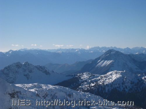 Austrian and Italian mountains