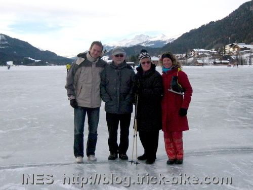 Family Picture at the Weissensee
