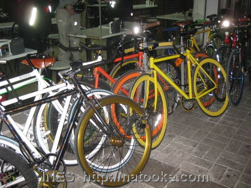 Fixed Gear Bikes in Beijing