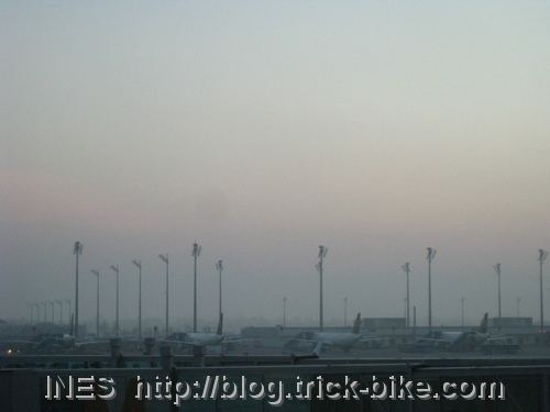 Munich Airport around sunrise