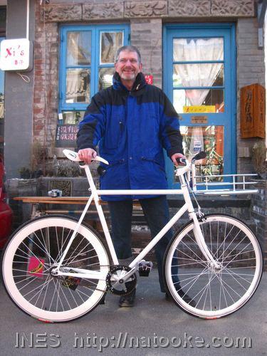 Happy Customer with his New Bike