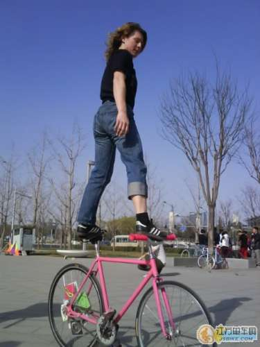 Bike Surfing in Beijing