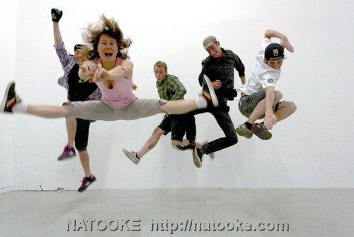 Doing a wild Jump