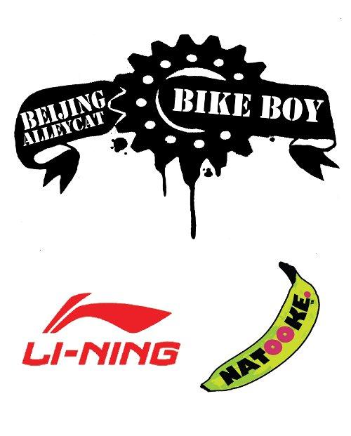 Beijing Alleycat Fixed Gear Race Spokecard