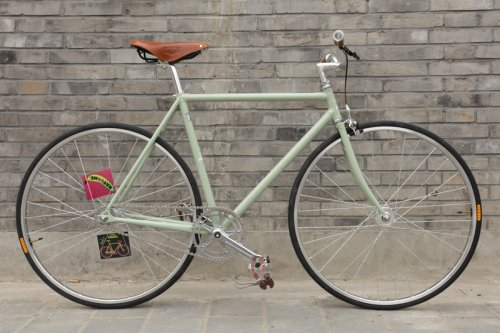 Classic Flying Banana Fixed Gear Bike by Natooke