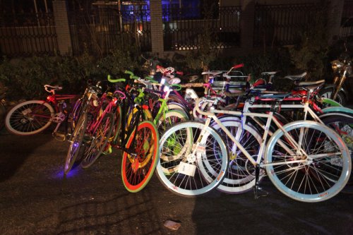 Bike Pile in Beijing