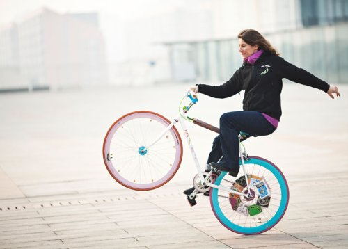 Ines Brunn wheely on kiDulty Magazine