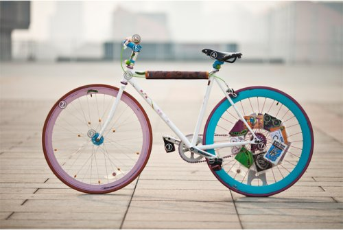 Fixed Gear Bike of Ines Brunn