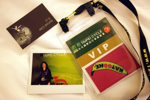VIP Exhibition Badge for Ines Brunn