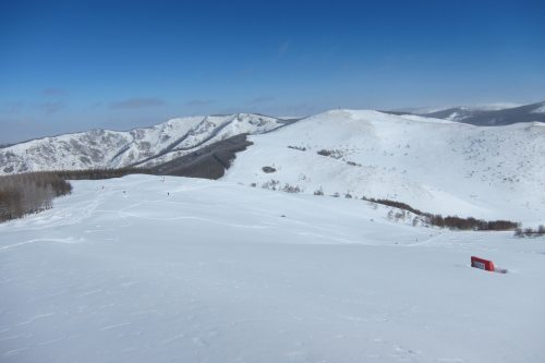 Huge Fields of Powder Snow in Chongli near Beijing