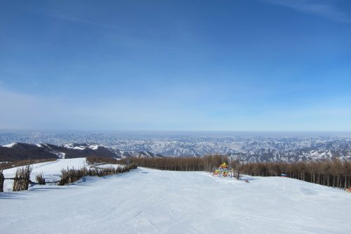Wanlong Ski Resort Mountain View