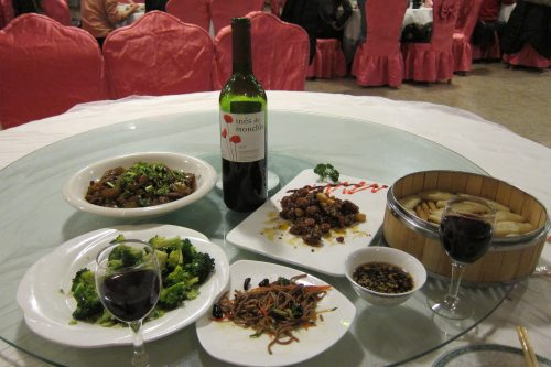 Dinner with Wine in China