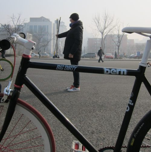 Coach Tom invites for Spring Festival Bike Polo in Beijing