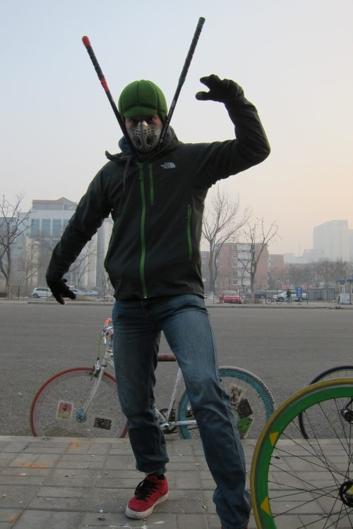 Beijing Bike Polo Ninja